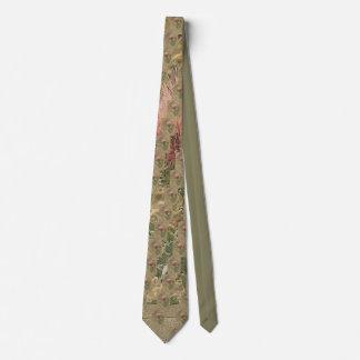 THISTLE invasive weed? Neck Tie