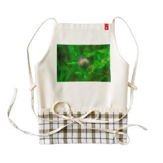 Thistle macro zazzle HEART apron