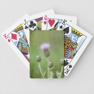 Thistle Bicycle Playing Cards