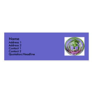 Thistle Profile Card Business Card
