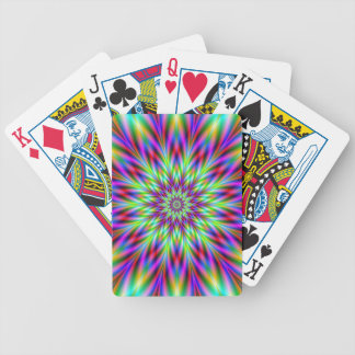 Thistle Star Bicycle Poker Cards