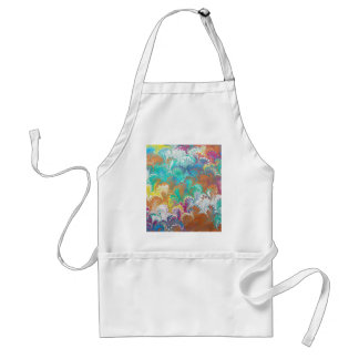 Thistle Water Marbling Adult Apron