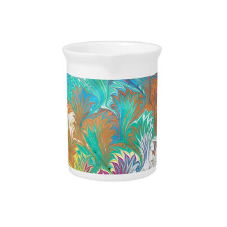 Thistle Water Marbling Pitchers