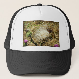 Thistledown Flower Trucker Hat