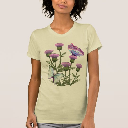 Thistles and Butterflies T-Shirt