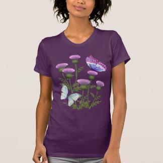Thistles and Butterflies Tee Shirt