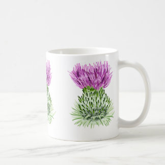Thistles Coffee Mugs