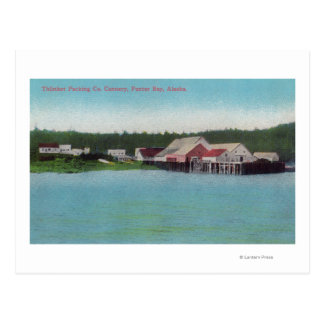 Thlinket Packing Co. Salmon Cannery Postcard