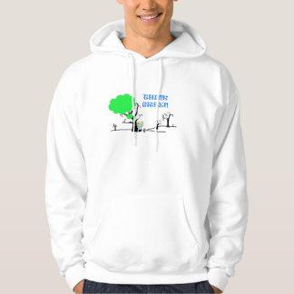 thnk green hoody