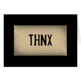 THNX CARD