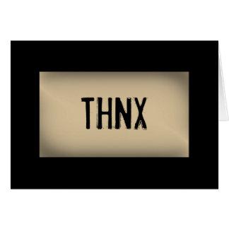 THNX CARDS