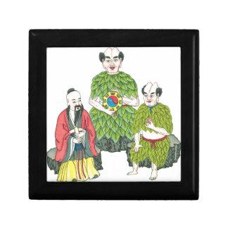Tho ancestral Gods of Medicine Jewelry Box