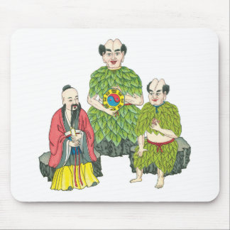 Tho ancestral Gods of Medicine Mouse Pad