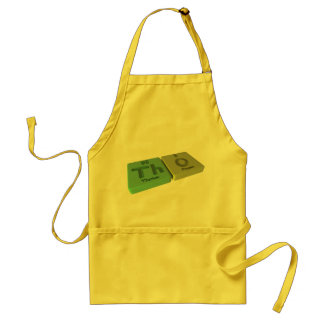 Tho as Th Thorium and O Oxygen Aprons