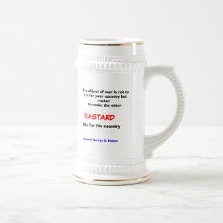 Tho object of war .... coffee mugs