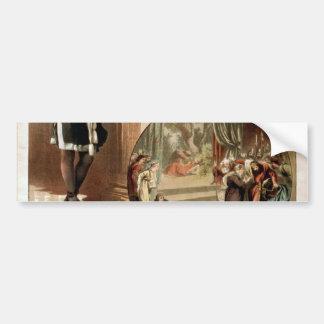 Tho' .W. Keene, Hamlet Retro Theater Car Bumper Sticker