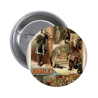 Tho' .W. Keene, Hamlet Retro Theater Pins