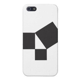 thoerem pythagorian iPhone 5 carcasas