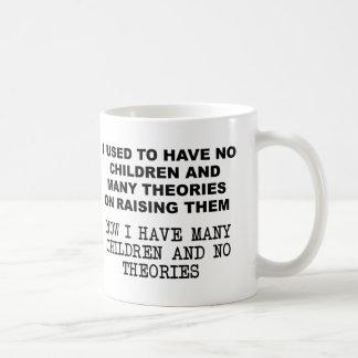 Thoeries on Raising Children Funny Mug