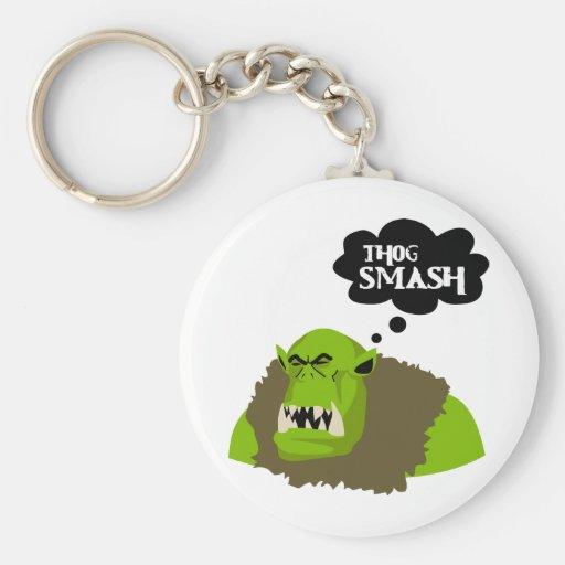 Thog Smash Key Chain
