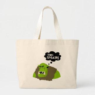 Thog Smash Large Tote Bag