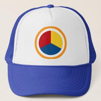 Thoghtful Action Mandala Trucker Hat