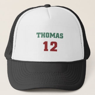 Thomas 12 trucker hat