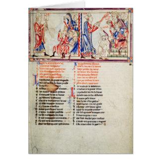 Thomas a Becket pronounces Card