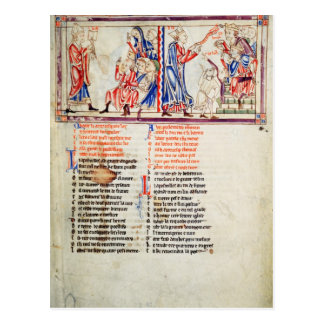 Thomas a Becket pronounces Postcard