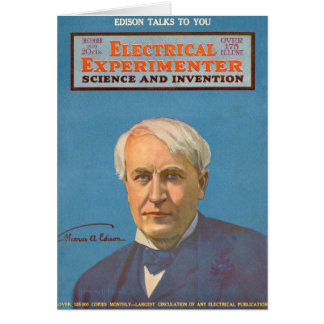 Thomas A. Edison Card
