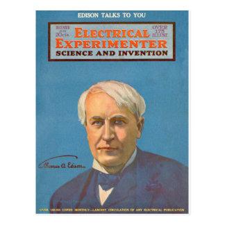 Thomas A. Edison Postcard