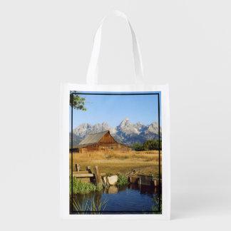 Thomas A. Moulton Barn Reusable Grocery Bag