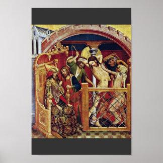 Thomas Altar Fragment Of The Left Inner Wing Scene Poster