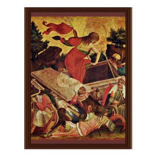 Thomas Altar Fragment Of The Right Inner-Wing Scen Postcard