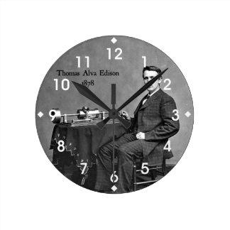 Thomas Alva Edison, 1878 Relojes