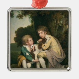 Thomas and Joseph Pickford as Children, c.1777-9 Metal Ornament