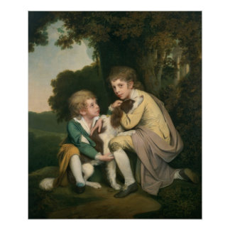 Thomas and Joseph Pickford as Children, c.1777-9 Posters