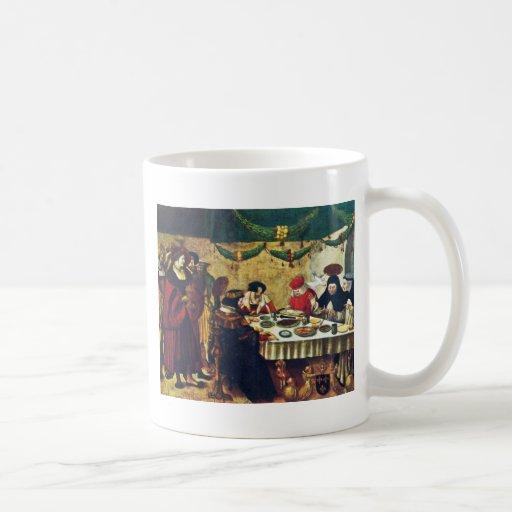 Thomas Aquinas At Saint Louis By Deutsch Niklaus M Coffee Mug
