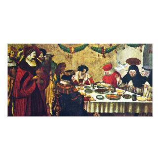 Thomas Aquinas At Saint Louis By Deutsch Niklaus M Photo Card