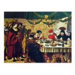 Thomas Aquinas At Saint Louis By Deutsch Niklaus M Post Card