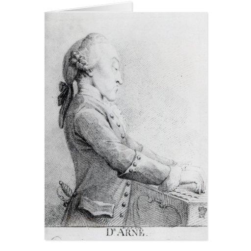 Thomas Augustine Arne Card