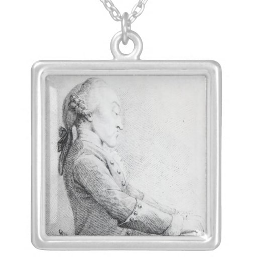 Thomas Augustine Arne Square Pendant Necklace