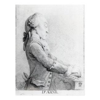 Thomas Augustine Arne Tarjeta Postal