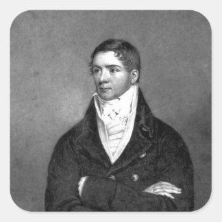 Thomas Belcher, engraved by Charles Turner, 1814 Square Sticker