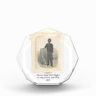"Thomas ""Blind Tom"" Wiggins, 1859 Award"