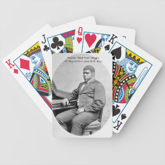 "Thomas ""Blind Tom"" Wiggins, 1860 Bicycle Playing Cards"