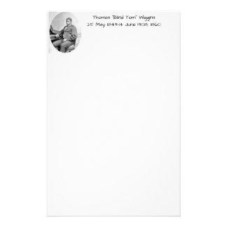 """Thomas """"Blind Tom"""" Wiggins, 1860 Stationery"""