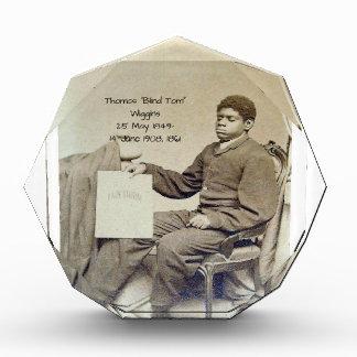 "Thomas ""Blind Tom"" Wiggins, 1861 Acrylic Award"