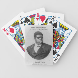 "Thomas ""Blind Tom"" Wiggins Bicycle Playing Cards"