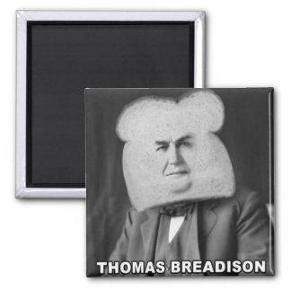 Thomas Breadison 2 Inch Square Magnet